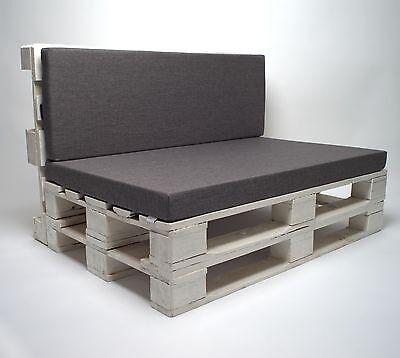 Harmonieren perfekt mit Paletten-Sesseln: die Sitzpolster von SuperSack. (© SuperSack)