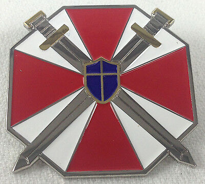 RESIDENT EVIL Umbrella Corporation Special Forces Logo - Video Game Enamel Pin