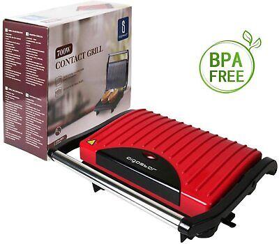 Aigostar Warme 30HHH – Grill Parrilla Sandwichera y Máquina de panini 700W...