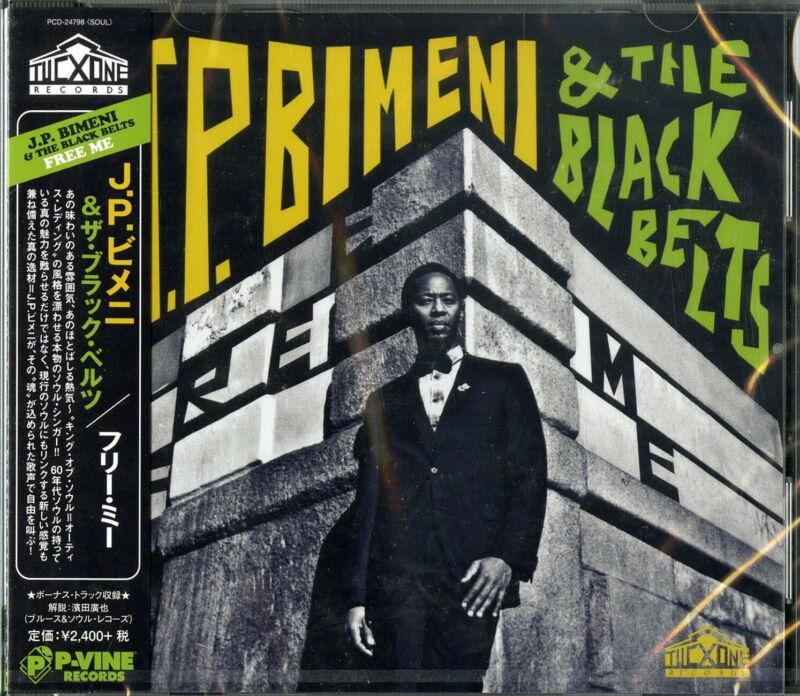 J.P. BIMENI & THE BLACK BELTS-FREE ME-JAPAN CD F30