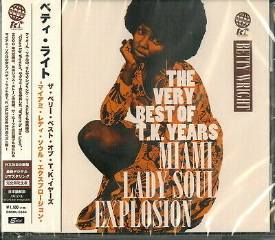 BETTY WRIGHT-BEST OF T.K. YEARS-JAPAN CD Ltd/Ed