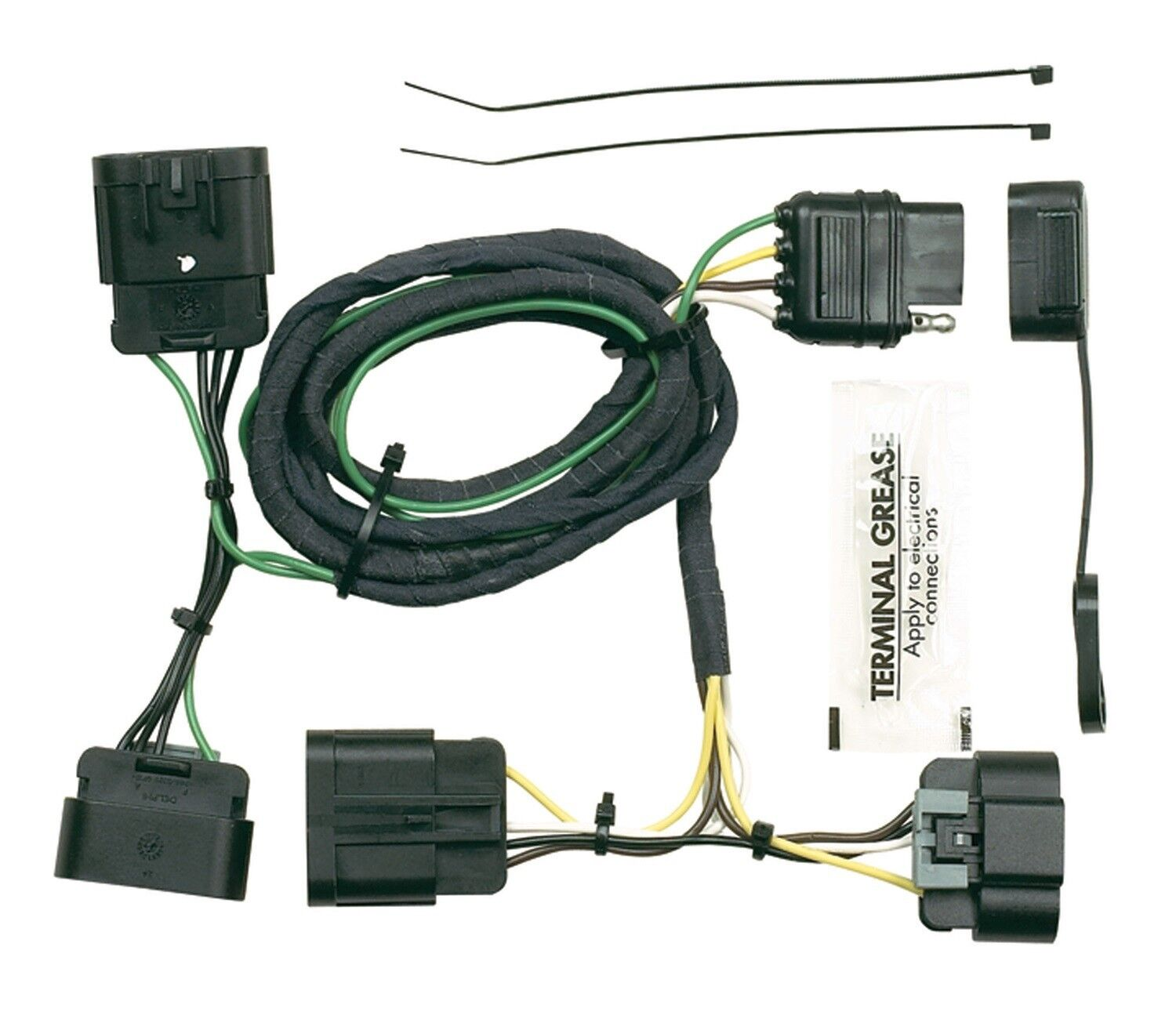 Excellent Hoppy 11141175 Plug In Simple Trailer Hitch Wiring Kit Ebay Wiring Wiring Digital Resources Ommitdefiancerspsorg