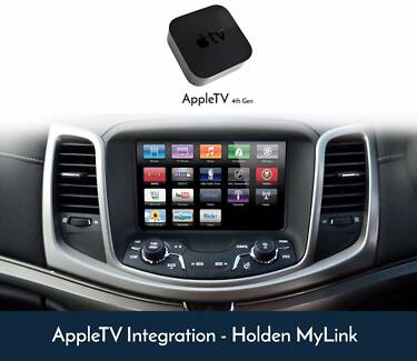 Holden MyLink Apple TV 4th Gen HD Retrofit Upgrade Service