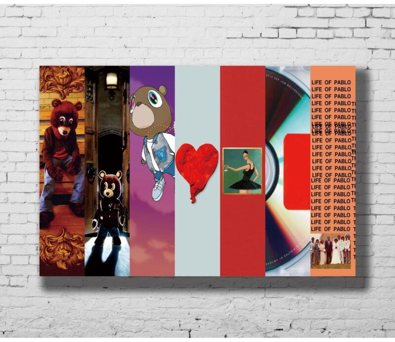 24x36 14x21 Poster Kanye West Rap Hip Hop Grammy Music Star Singer Art Hot P-626