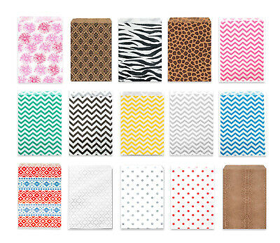 Polka Dot Paper (5x7, 6x9 Paper Gift Bags, Chevron, Zebra, Leopard, Polka Dot Party Wedding)