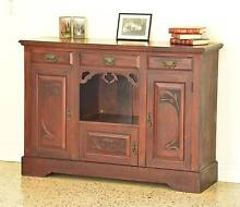 ★ PRICED TO SELL! Beautiful Antique Solid Oak Buffet / Sideboard★ Brisbane City Brisbane North West Preview