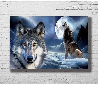 24x36 14x21 40 Poster Wolf - Wild Nature Animals Art Hot P-1148