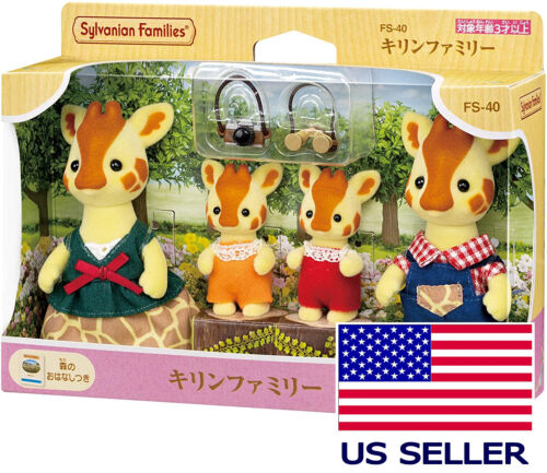 PRE-ORDER Sylvanian Families Giraffe Family FS-40 Calico Critters Epoch Japan