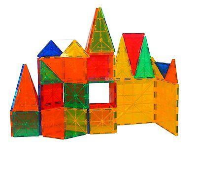 Building Toys (Mag-Genius Award Winning building Tiles Magnet Tiles Magnetic Block Set)
