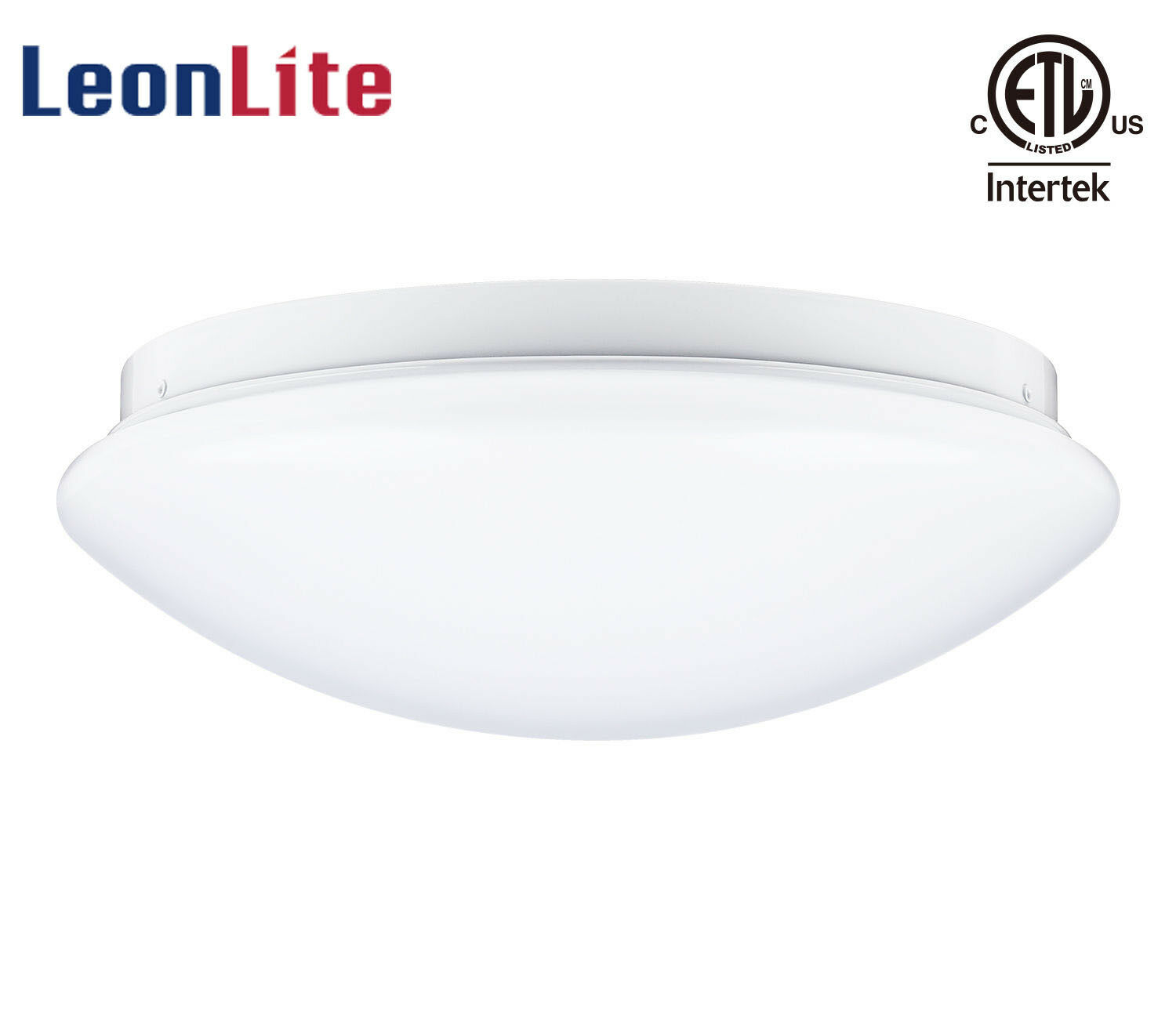 LEONLITE 12 Inch 16W LED Flush Mount Ceiling Light Fixture,