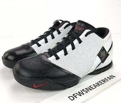 cd72351eb7c Nike Zoom LeBron V Low Remix Men SZ 12 Basketball Shoes 318696-171 White  2008