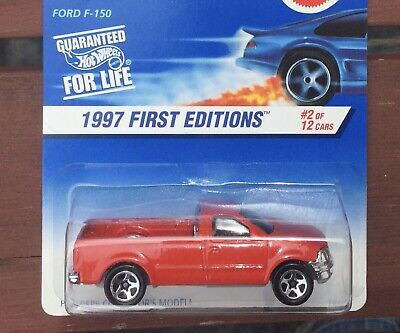 HOT WHEELS 1997 First Editions FORD F150 TRUCK #513 FREE SHIPPING