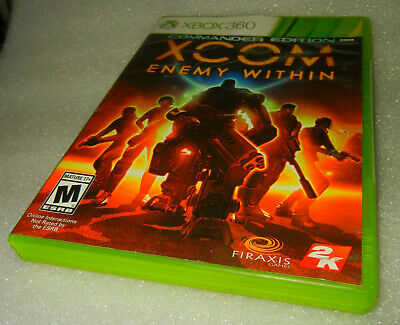 XCOM: Enemy Within - Commander Edition Xbox 360 - New Free