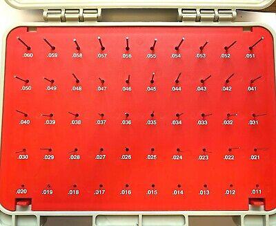 Vermont Gage Pin Plus Set Class Zz Plus Range 0.0110 - 0.0600 101100200