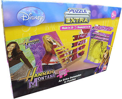 Disney Hannah Montana Puzzle Extra - Puzzles Created In 2D Then Displayed In 3D