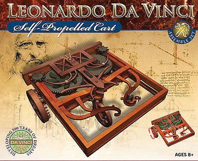 NEU Leonardo da Vinci Autofahrzeug Auto Car Modell Bausatz