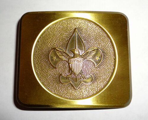 Boy Scouts of America Bronze Tone Eagle & FDL Belt Buckle