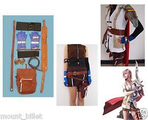 Brand new Final Fantasy XIII Lightning Halloween Cosplay Costume
