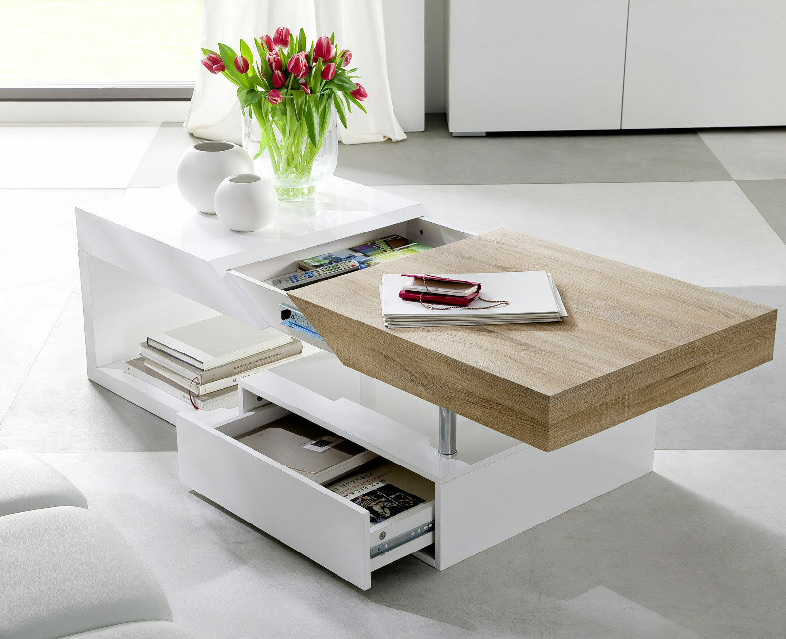 Black Gloss Coffee Table Ebay