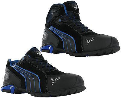 Puma Rio Low Mid Mens S3 SRC Safety Midsole Toe Cap Trainers Shoes Boots UK6-12
