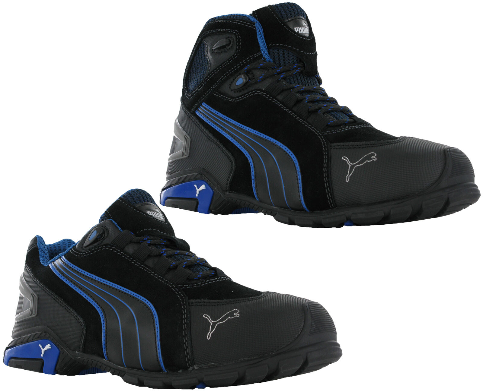 58ae01a6abe Puma Rio Low Mid Mens S3 SRC Safety Midsole Toe Cap Trainers Shoes Boots  UK6-12