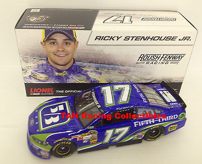 Ricky Stenhouse Jr 2013 Lionel Action  17 Fifth Third Bank Diecast 1 24 Freeship