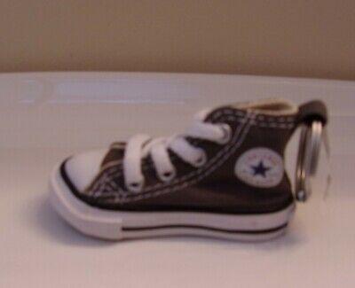 Converse Chuck Taylor All Star High Top Shoe Key Ring GRAY Brand New!