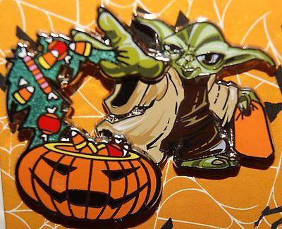 Yoda Pumpkin (Disney Star Wars Yoda and Pumpkin Halloween 2016 Pin NEW ON)