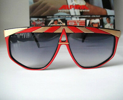 472402076ba Alpina G82 New 80s W Germany BMW Sunglass Sonnenbrille Aviator Mens Vintage  Ray for sale Shipping