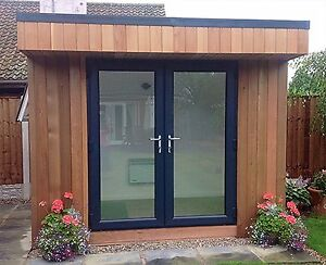 Grey Upvc French Doors New Made To Measure On 21st Ebay