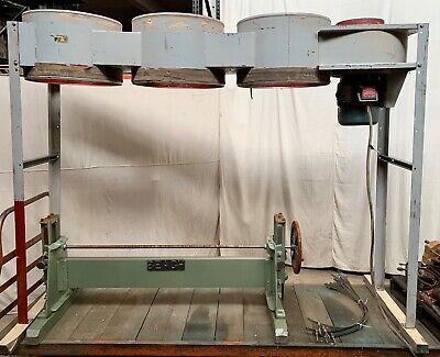 Dustek E750 Dust Collector 7 12hp 3ph 230460v 3600rpm 3000 Cfm Wbags 101511