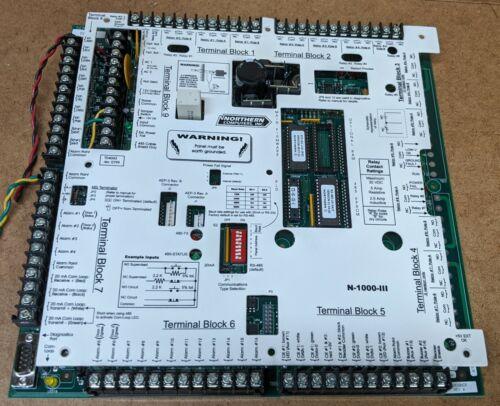 Honeywell Northern Computers N-1000-III Access Control Board 2 Door