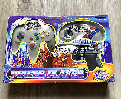 Power Player Super Joystick & Power Gun TV Game Plug And Play Complete 76000