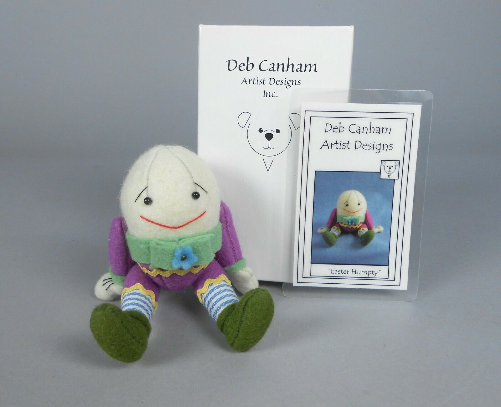 как выглядит Deb Canham Easter Humpty Dumpty Miniature Animal фото