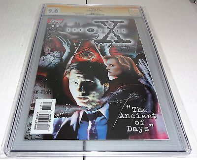 X-Files #11 CGC SS 9.8 Signature Autograph DAVID DUCHOVNY Signed Comics Topps 🔥