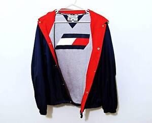 Rare vintage Tommy Hilfiger spellout jacket size Large. South Brisbane Brisbane South West Preview