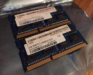 PC3-10600S 4GB Laptop Ram (2x2GB)