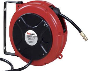 Enrollador de manguera aire comprimido 8mm interior 8 mts for Manguera para aire comprimido