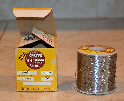Kester 44 Resin Core Solder In Box 1 Lb.