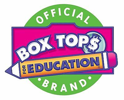 500 BOX TOPS FOR EDUCATION BTFE TRIMMED None Expired. Ships Today Tracked Lot