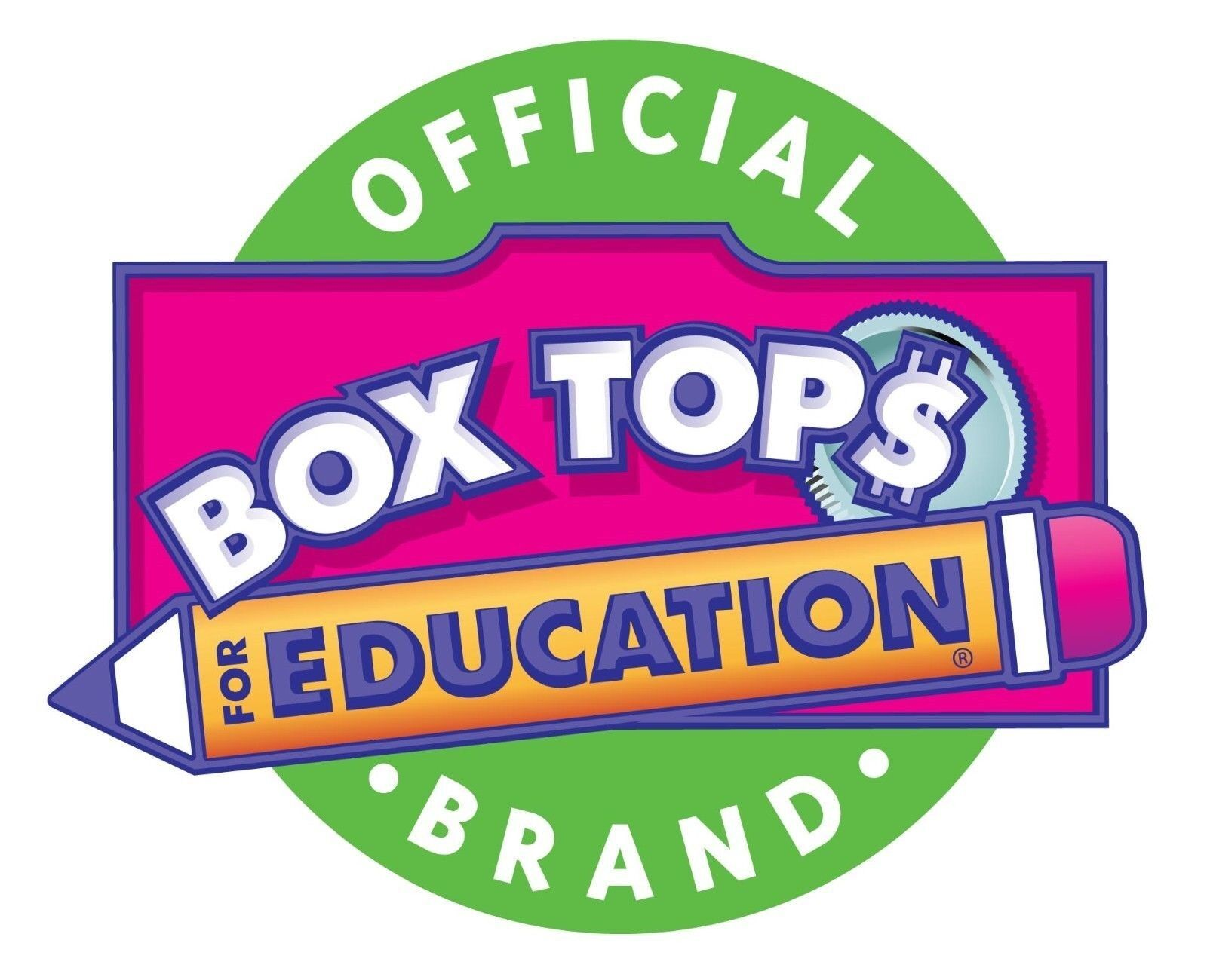 100 BOX TOPS FOR EDUCATION BTFE TRIMMED Exp 2019-21 Ship Today Tracked Lot