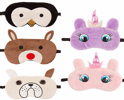 Damen Augenmaske Vlies Neuheit Tier Gesicht Pinguin Einhorn - Pinguin Maske