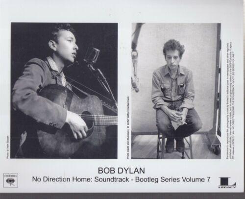 "2x bob dylan no direction home soundtrack bootleg series volume 7"" press photo"
