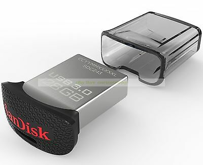 SanDisk USB 128GB 128G Ultra Fit USB3.0 Flash Pen Drive Mini Nano New