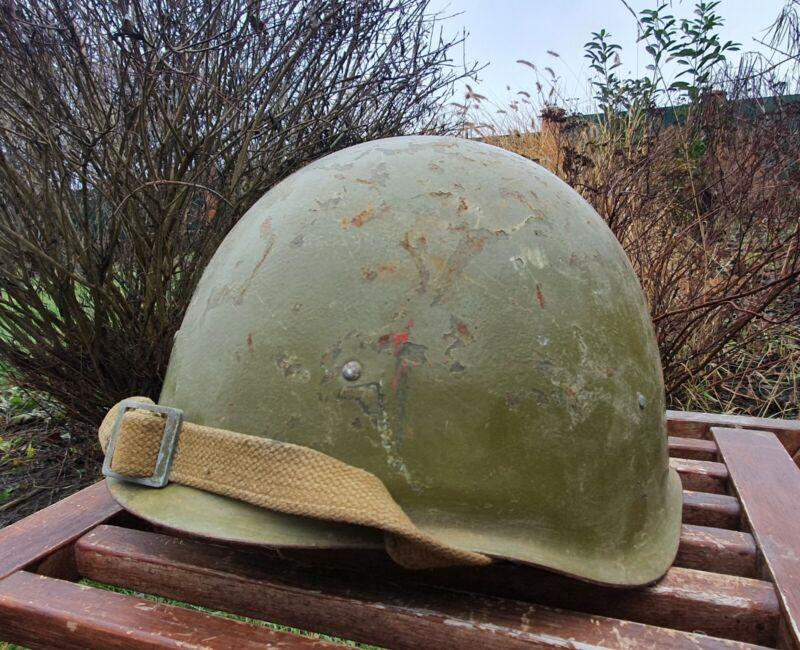 Original Military Helmet SSh 40 Steel WW2 Soviet Army RKKA WWII Russian N 1-147