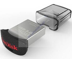 SANDISK ULTRA FIT 128GB 128G 128 G GB USB FLASH DRIVE MINI NANO LIFE TIME WARRAN