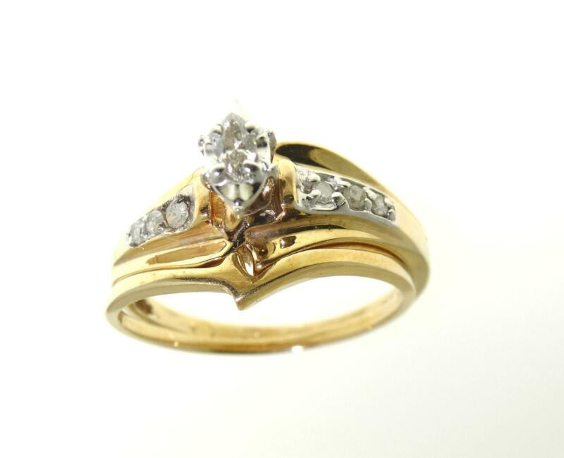 jewelry solid wedding engagement wholesale cheap real gold rings diamond white