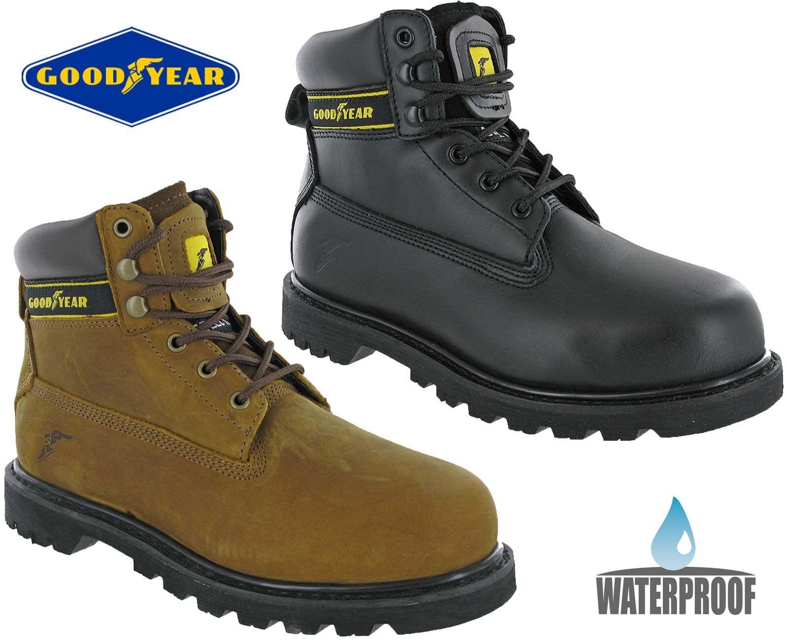Goodyear Safety Work Boots Waterproof