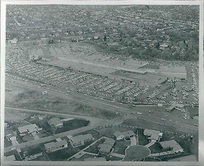 1965 Salt Lake City Utah Cottonwood Mall Original News Service (Salt Lake City Mall)