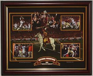 Florida State Seminoles 2013 National Championship framed print Winston  Fisher